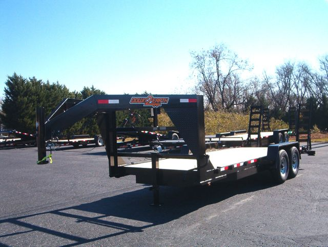 2020 Down To Earth 20Ft Gooseneck 7 Ton Equipment