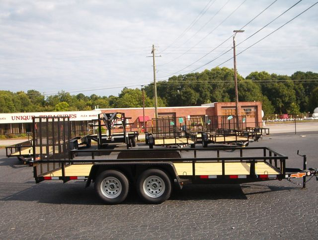 2020 Down To Earth Utility 6.4x16 Tandem in Madison, Georgia 30650