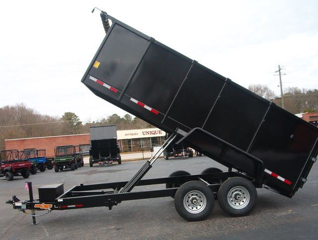 2021 Dump Trailer Down To Earth Dump 7x16 4Ft Sides 7 Ton in Madison, Georgia 30650