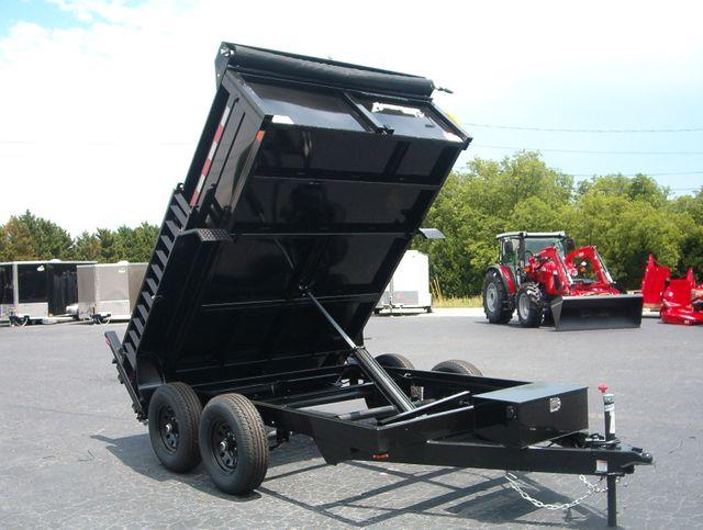 2021 Dump Trailer Homesteader Dump 7X10 5Ton