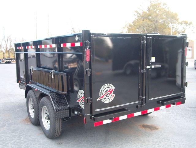 2020 Dump Trailer Homesteader Dump 7x14 7 Ton 4 Ft Sides in Madison, Georgia 30650