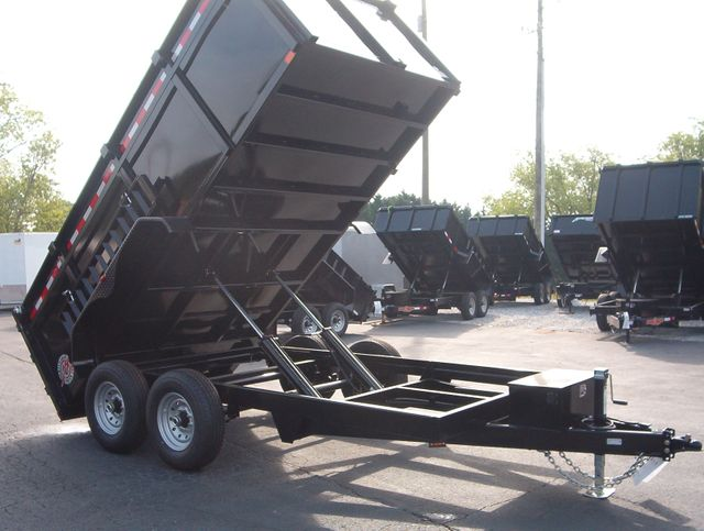 2020 Dump Trailer Homesteader Dump 7x14 7 Ton 4 Ft Sides in Madison, Georgia 30650