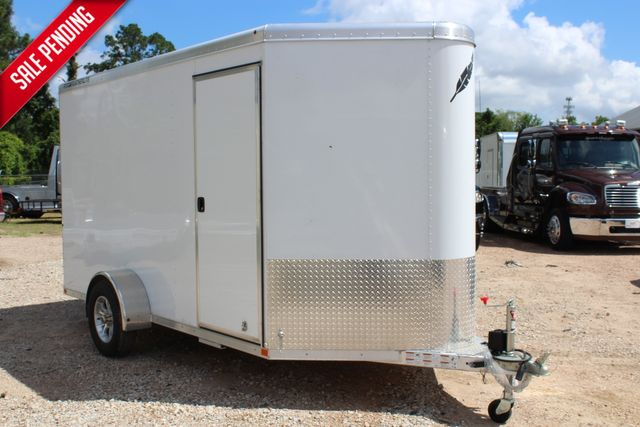2020 Featherlite 1610 12' ENCLOSED UTILITY TRAILER - 7' TALL