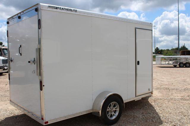 2020 Featherlite 1610 12' ENCLOSED UTILITY TRAILER - 7' TALL CONROE, TX 23