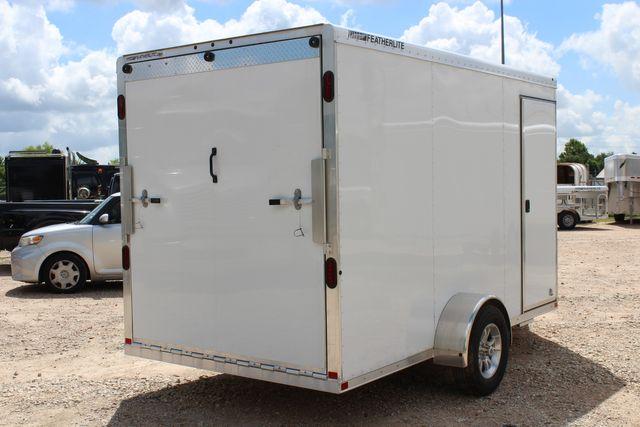 2020 Featherlite 1610 12' ENCLOSED UTILITY TRAILER - 7' TALL CONROE, TX 24