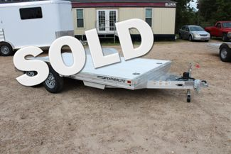 2020 Featherlite 3110 Flat Bed 14' Open Car Trailer with Raised Deck CONROE, TX