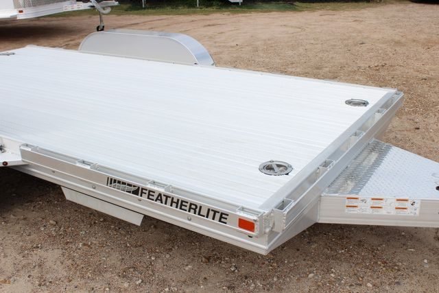 2020 Featherlite 3110 Flat Bed 14' Open Car Trailer with Raised Deck CONROE, TX 1