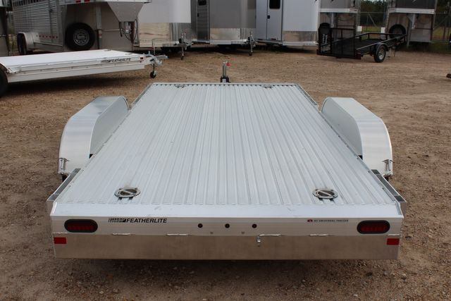 2020 Featherlite 3110 Flat Bed 14' Open Car Trailer with Raised Deck CONROE, TX 10