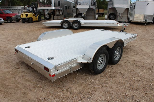 2020 Featherlite 3110 Flat Bed 14' Open Car Trailer with Raised Deck CONROE, TX 11