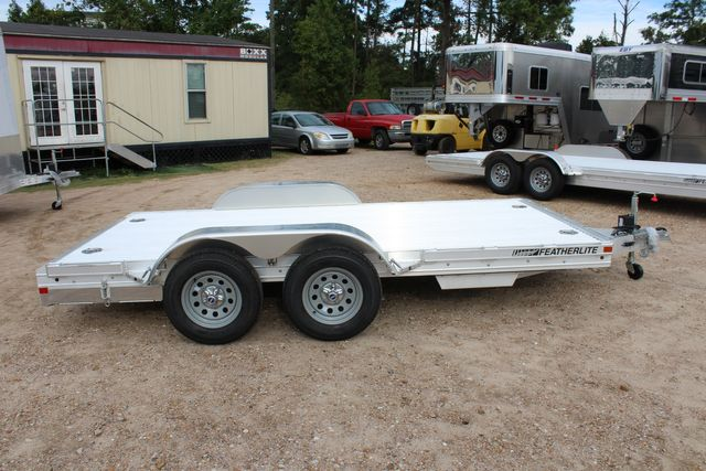 2020 Featherlite 3110 Flat Bed 14' Open Car Trailer with Raised Deck CONROE, TX 12