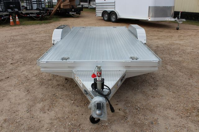2020 Featherlite 3110 Flat Bed 14' Open Car Trailer with Raised Deck CONROE, TX 3