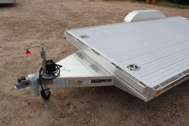 2020 Featherlite 3110 Flat Bed 14' Open Car Trailer with Raised Deck CONROE, TX 4