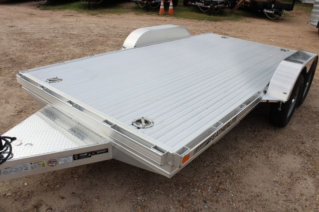 2020 Featherlite 3110 Flat Bed 14' Open Car Trailer with Raised Deck CONROE, TX 5