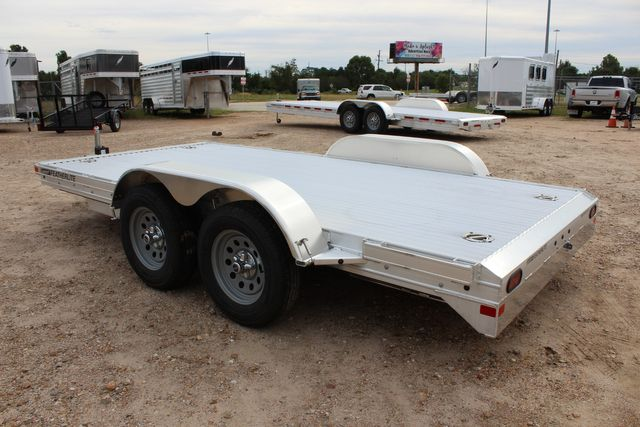 2020 Featherlite 3110 Flat Bed 14' Open Car Trailer with Raised Deck CONROE, TX 8