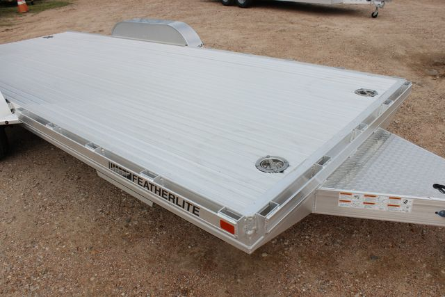 "2020 Featherlite 3110 - 17' CAR HAULER 17'6"" RAISED DECK - RUB RAILS & STAKES CONROE, TX 1"