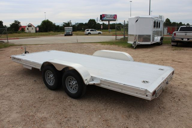 "2020 Featherlite 3110 - 17' CAR HAULER 17'6"" RAISED DECK - RUB RAILS & STAKES CONROE, TX 10"