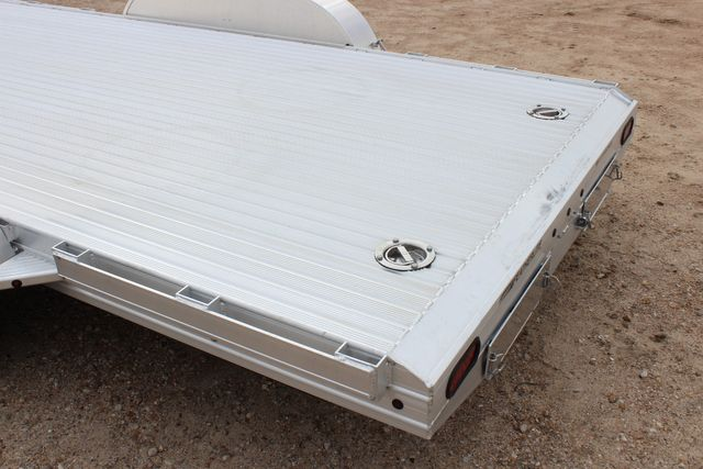 "2020 Featherlite 3110 - 17' CAR HAULER 17'6"" RAISED DECK - RUB RAILS & STAKES CONROE, TX 11"