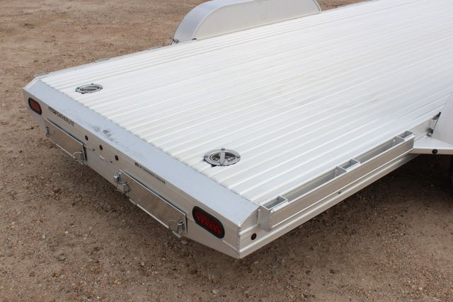 "2020 Featherlite 3110 - 17' CAR HAULER 17'6"" RAISED DECK - RUB RAILS & STAKES CONROE, TX 13"