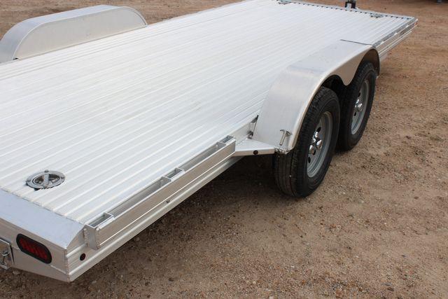 "2020 Featherlite 3110 - 17' CAR HAULER 17'6"" RAISED DECK - RUB RAILS & STAKES CONROE, TX 14"