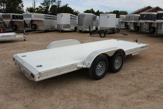 "2020 Featherlite 3110 - 17' CAR HAULER 17'6"" RAISED DECK - RUB RAILS & STAKES CONROE, TX 15"