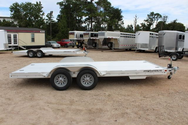 "2020 Featherlite 3110 - 17' CAR HAULER 17'6"" RAISED DECK - RUB RAILS & STAKES CONROE, TX 16"