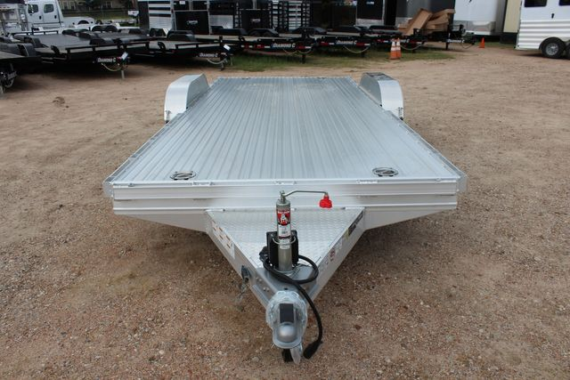 "2020 Featherlite 3110 - 17' CAR HAULER 17'6"" RAISED DECK - RUB RAILS & STAKES CONROE, TX 3"