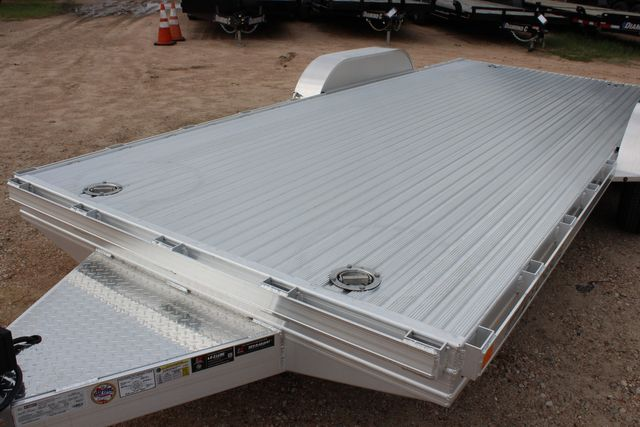 "2020 Featherlite 3110 - 17' CAR HAULER 17'6"" RAISED DECK - RUB RAILS & STAKES CONROE, TX 5"