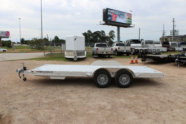 "2020 Featherlite 3110 - 17' CAR HAULER 17'6"" RAISED DECK - RUB RAILS & STAKES CONROE, TX 9"