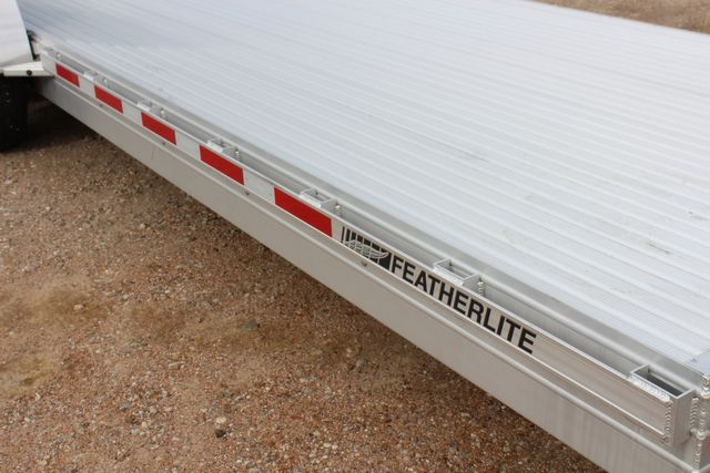 2020 Featherlite 3110 - 24' Flat Bed 24' RAISED DECK Car Trailer RUB RAILS CONROE, TX 1