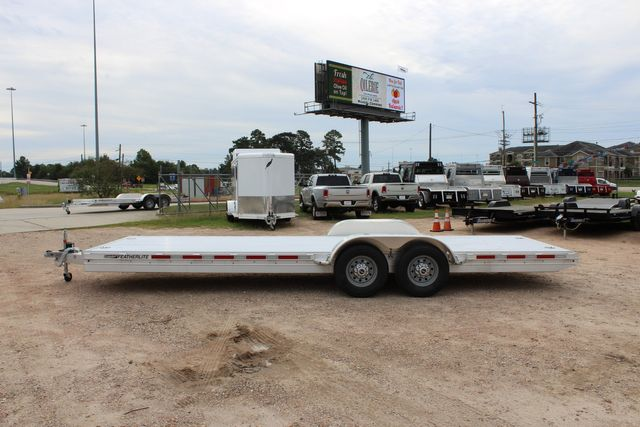 2020 Featherlite 3110 - 24' Flat Bed 24' RAISED DECK Car Trailer RUB RAILS CONROE, TX 10
