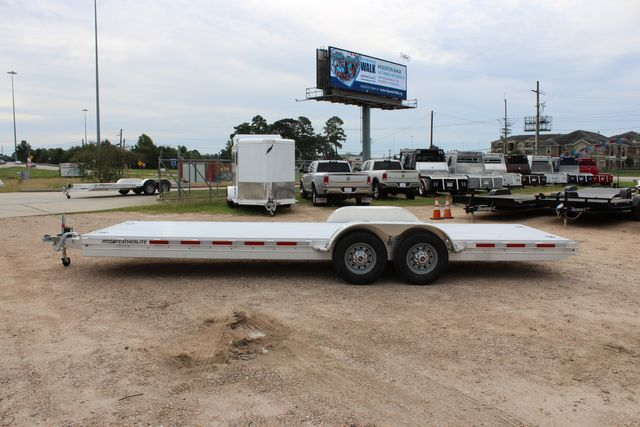 2020 Featherlite 3110 - 24' Flat Bed 24' RAISED DECK Car Trailer RUB RAILS CONROE, TX 11