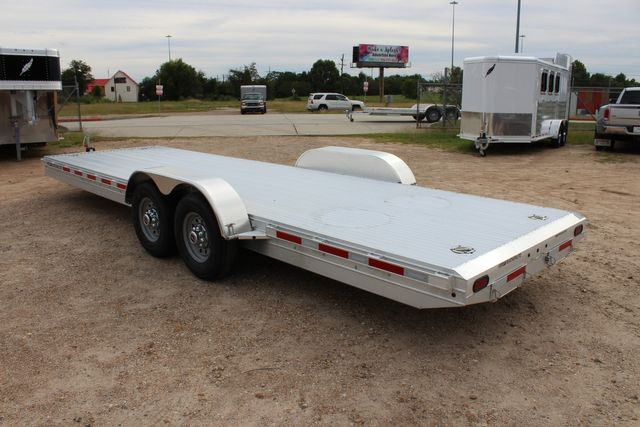 2020 Featherlite 3110 - 24' Flat Bed 24' RAISED DECK Car Trailer RUB RAILS CONROE, TX 13