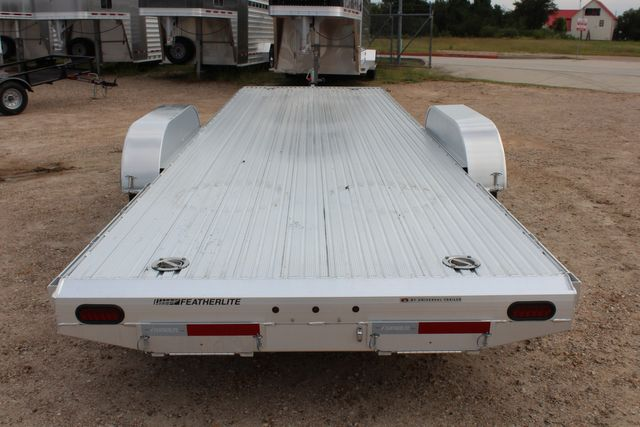 2020 Featherlite 3110 - 24' Flat Bed 24' RAISED DECK Car Trailer RUB RAILS CONROE, TX 16