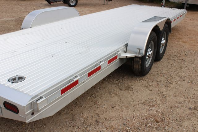 2020 Featherlite 3110 - 24' Flat Bed 24' RAISED DECK Car Trailer RUB RAILS CONROE, TX 18