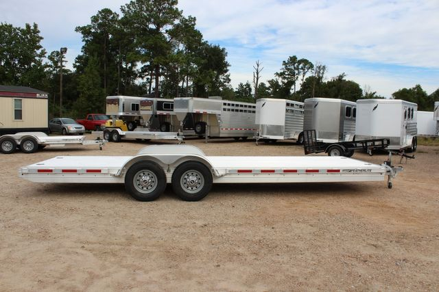 2020 Featherlite 3110 - 24' Flat Bed 24' RAISED DECK Car Trailer RUB RAILS CONROE, TX 20