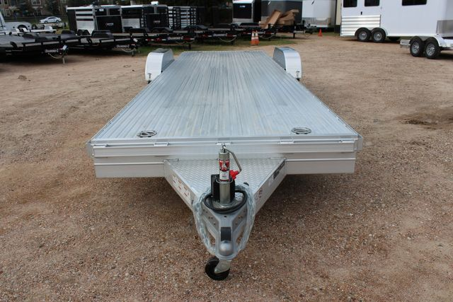 2020 Featherlite 3110 - 24' Flat Bed 24' RAISED DECK Car Trailer RUB RAILS CONROE, TX 5