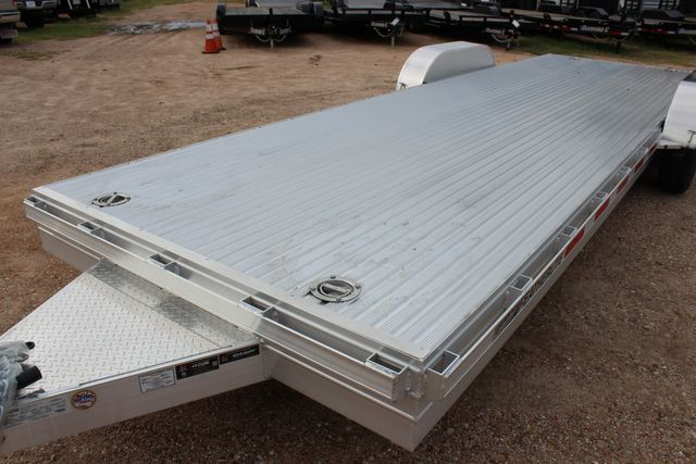 2020 Featherlite 3110 - 24' Flat Bed 24' RAISED DECK Car Trailer RUB RAILS CONROE, TX 7