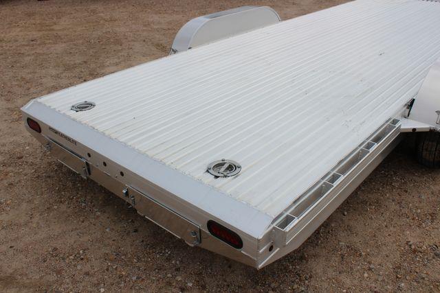 2020 Featherlite 3110 20' FLATBED OPEN CAR TRAILER RAISED DECK RUB RAILS CONROE, TX 13