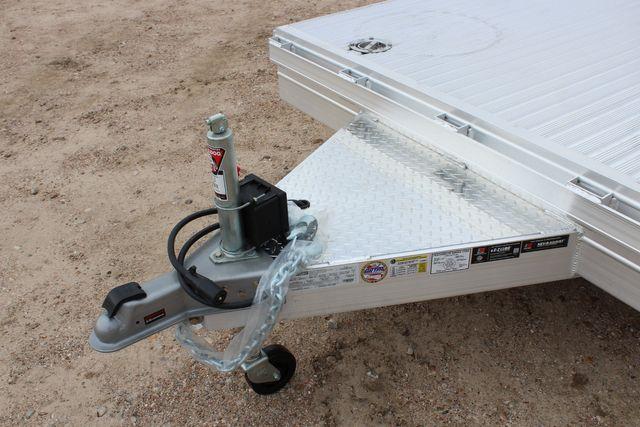 2020 Featherlite 3110 20' FLATBED OPEN CAR TRAILER RAISED DECK RUB RAILS CONROE, TX 4