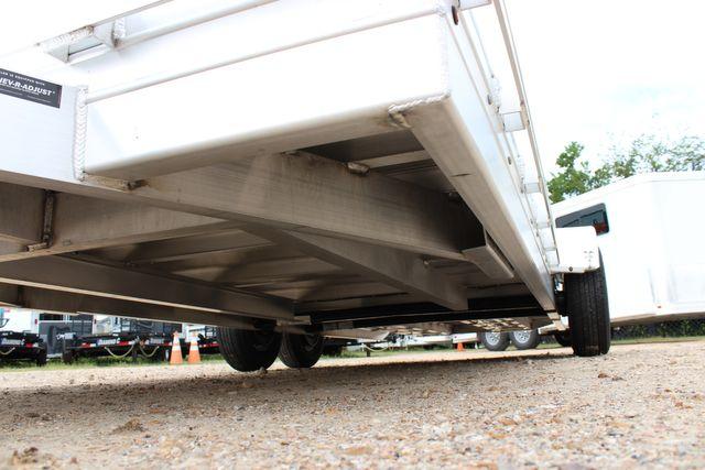 2020 Featherlite 3110 20' FLATBED OPEN CAR TRAILER RAISED DECK RUB RAILS CONROE, TX 6