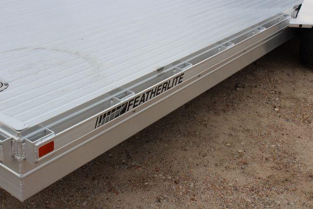2020 Featherlite 3110 20' FLATBED OPEN CAR TRAILER RAISED DECK RUB RAILS CONROE, TX 7