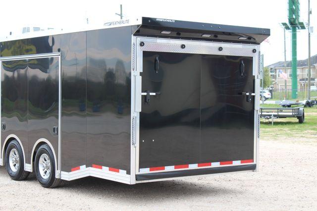 """2020 Featherlite 4410-0028 4410 28' enclosed car trailer - 8'6"""" W x 7'0"""" H CONROE, TX 14"""