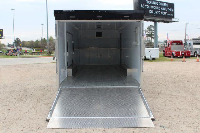 """2020 Featherlite 4410-0028 4410 28' enclosed car trailer - 8'6"""" W x 7'0"""" H CONROE, TX 16"""