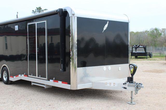 """2020 Featherlite 4410-0028 4410 28' enclosed car trailer - 8'6"""" W x 7'0"""" H CONROE, TX 3"""