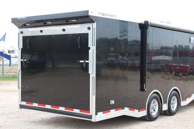"""2020 Featherlite 4410-0028 4410 28' enclosed car trailer - 8'6"""" W x 7'0"""" H CONROE, TX 24"""