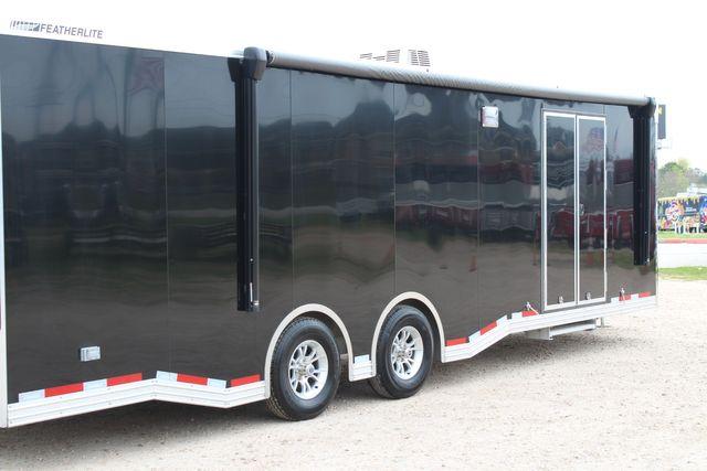 """2020 Featherlite 4410-0028 4410 28' enclosed car trailer - 8'6"""" W x 7'0"""" H CONROE, TX 25"""