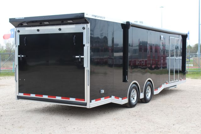 """2020 Featherlite 4410-0028 4410 28' enclosed car trailer - 8'6"""" W x 7'0"""" H CONROE, TX 26"""
