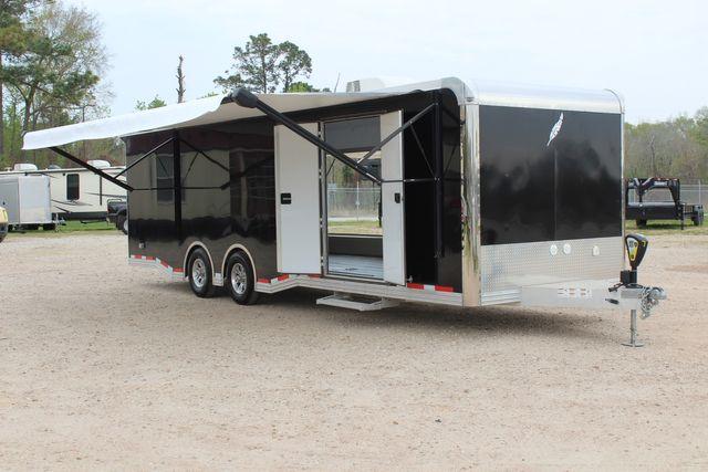 """2020 Featherlite 4410-0028 4410 28' enclosed car trailer - 8'6"""" W x 7'0"""" H CONROE, TX 1"""