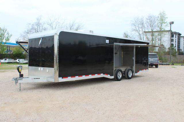 """2020 Featherlite 4410-0028 4410 28' enclosed car trailer - 8'6"""" W x 7'0"""" H CONROE, TX 8"""