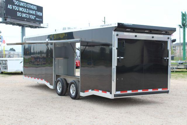 """2020 Featherlite 4410-0028 4410 28' enclosed car trailer - 8'6"""" W x 7'0"""" H CONROE, TX 12"""